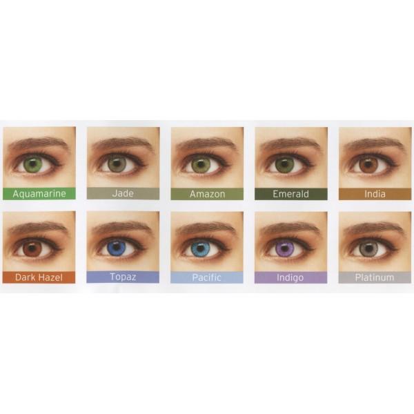 SofLens Natural Colors (2 šošovky) - dioptrické - Najlacnejšie šošovky 914b3ef681a