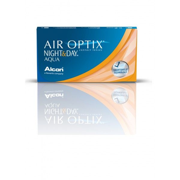 Air Optix Night and Day Aqua (6 šošoviek) - Najlacnejšie šošovky 2168000d695