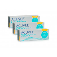 ACUVUE OASYS 1-Day with HydraLuxe for Astigmatism (90 šošoviek)