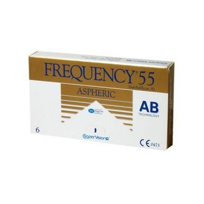 Frequency 55 Aspheric (6 ks) - Najlacnejšie šošovky 1c3496dd512