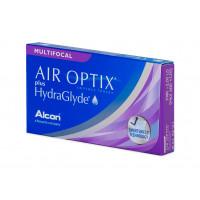 AIR OPTIX plus HydraGlyde MULTIFOCAL (3 šošovky)