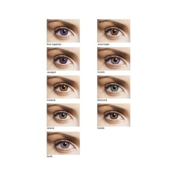 FreshLook Colorblends (2 ks) dioptrické - Najlacnejšie šošovky 19ebbe2c360