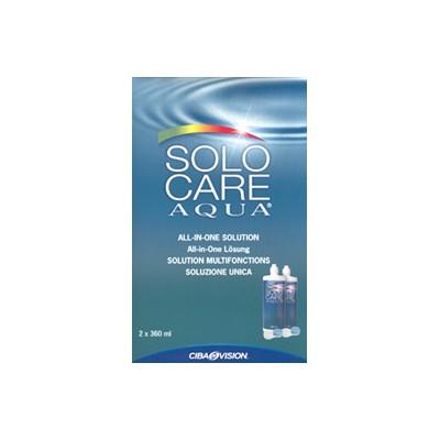 SOLOCARE Aqua 2 x 360 ml - Najlacnejšie šošovky 2408987dd3e